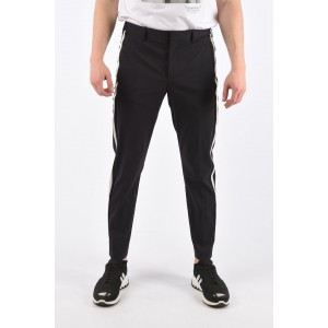 Piping Pants with Ankle Zip Neil Barrett Herren Classic Heiße Werbung 93EHD7WY