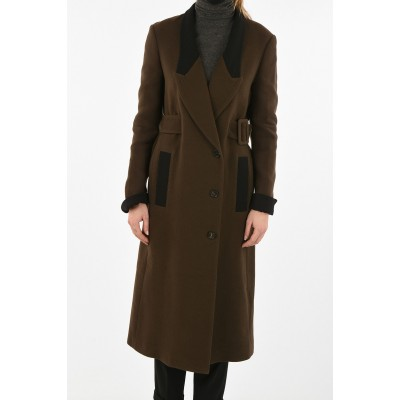 Double Breasted Coat with Belt TRE by Natalie Ratabesi Damen Günstig ROO8PKQ5